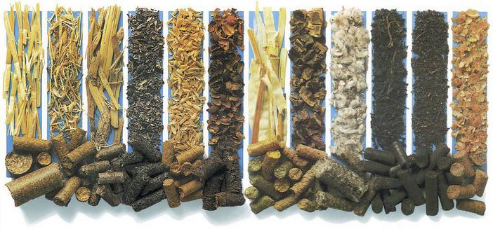 Разновидности пеллет
